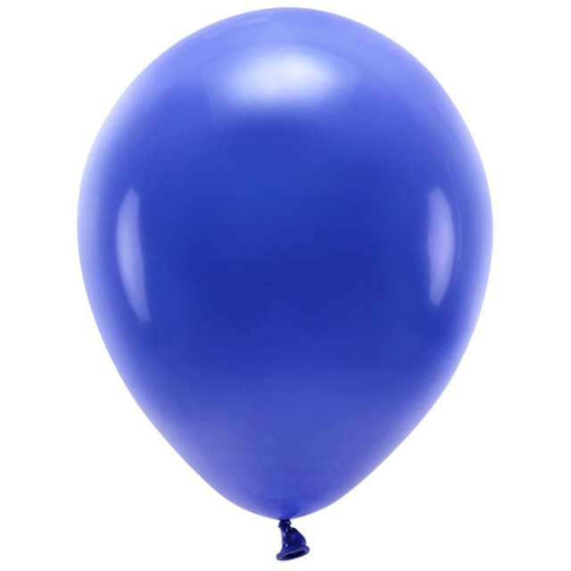 """Balony """"Ekologiczne"""", granatowe, Partydeco, 12"""", 10 szt"""