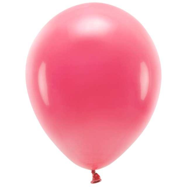 """Balony """"Ekologiczne"""", czerwone jasne, Partydeco, 12"""", 10 szt"""