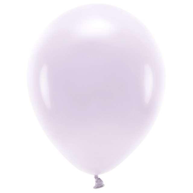 """Balony """"Ekologiczne"""", liliowe jasne, Partydeco, 12"""", 10 szt"""