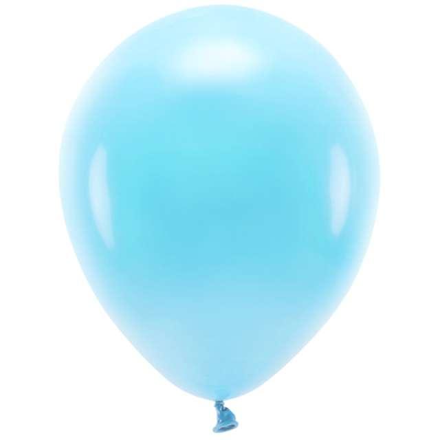 """Balony """"Ekologiczne"""", niebieskie jasne, Partydeco, 12"""", 10 szt"""