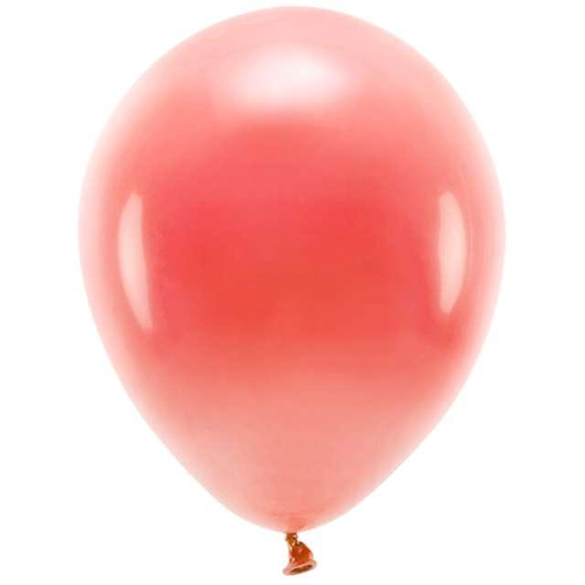 """Balony """"Ekologiczne"""", koralowe , Partydeco, 12"""", 10 szt"""