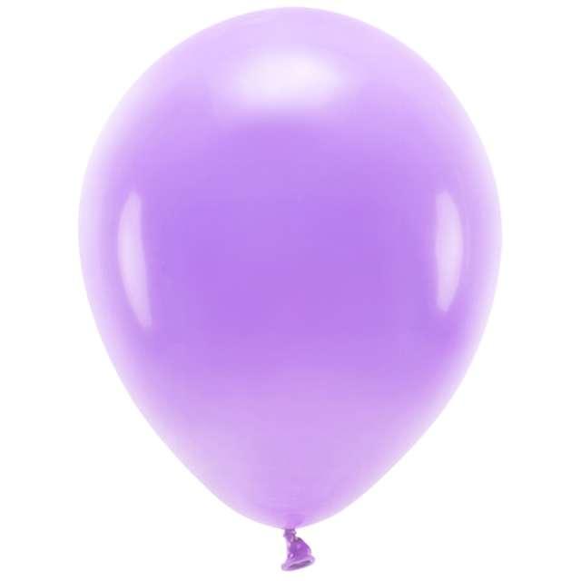 """Balony """"Ekologiczne"""", lawendowe, Partydeco, 12"""", 10 szt"""