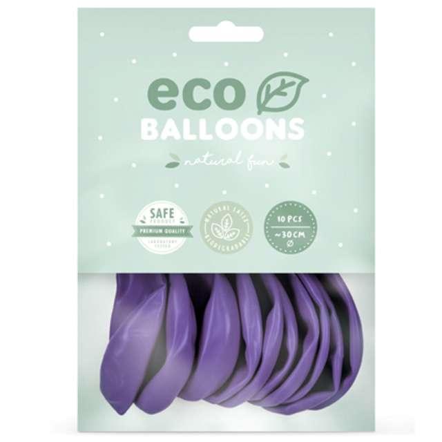 Balony Ekologiczne lawendowe Partydeco 12 10 szt