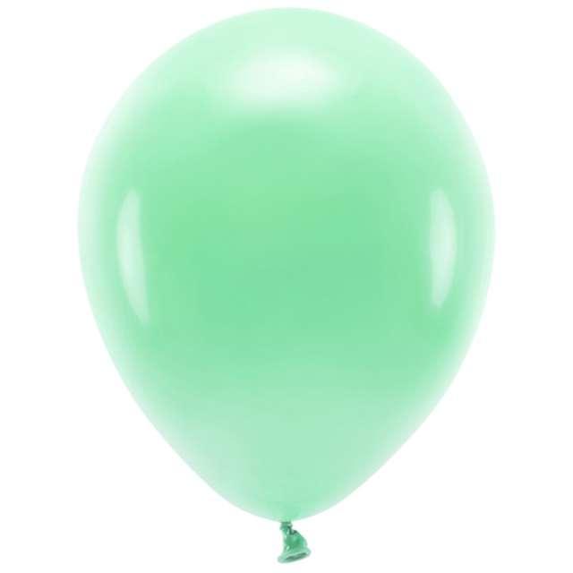 """Balony """"Ekologiczne"""", miętowe, Partydeco, 12"""", 10 szt"""