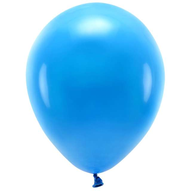 """Balony """"Ekologiczne"""", niebieskie, Partydeco, 12"""", 10 szt"""