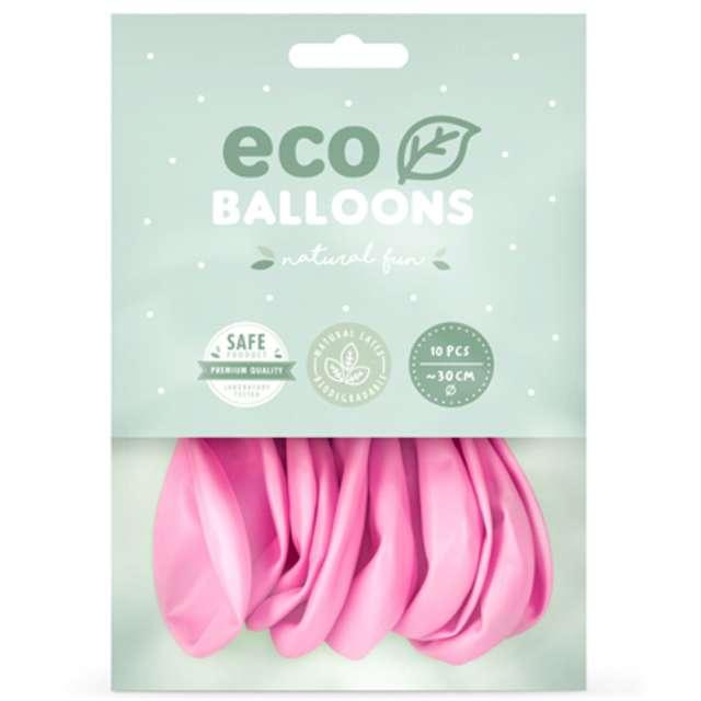 Balony Ekologiczne różowe Partydeco 12 10 szt