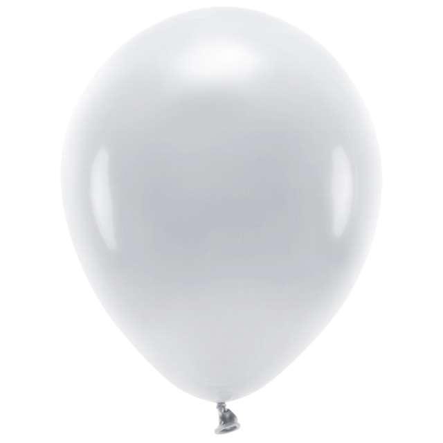 "Balony ""Ekologiczne"", szare, Partydeco, 12"", 10 szt"