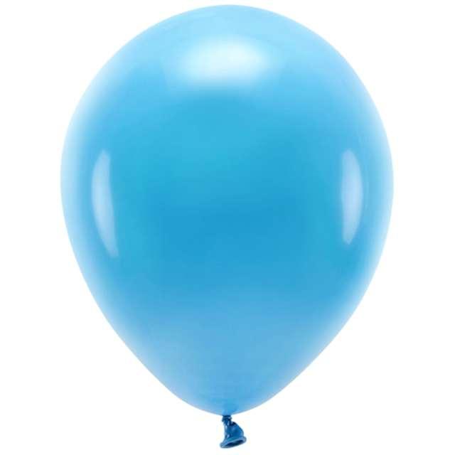 """Balony """"Ekologiczne"""", turkusowe, Partydeco, 12"""", 10 szt"""