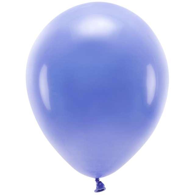 """Balony """"Ekologiczne"""", ultramaryna , Partydeco, 12"""", 10 szt"""