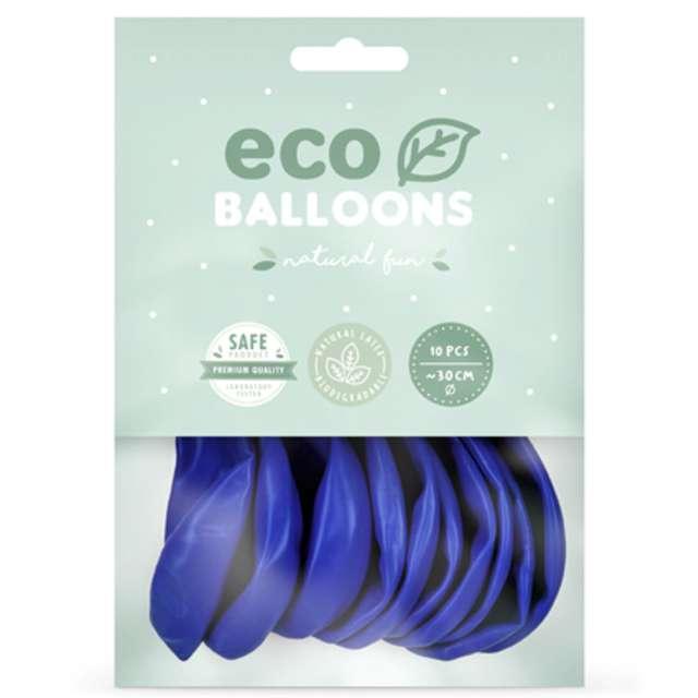 Balony Ekologiczne ultramaryna  Partydeco 12 10 szt