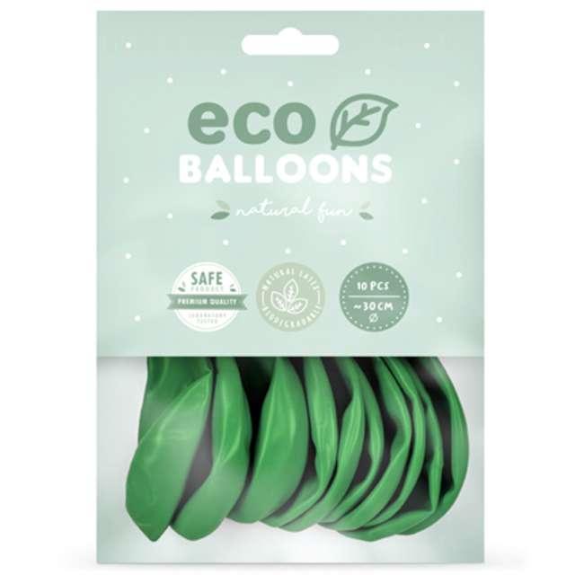 Balony Ekologiczne zielona trawa Partydeco 12 10 sz