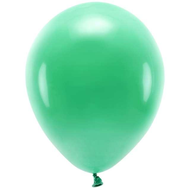 """Balony """"Ekologiczne"""", zielone, Partydeco, 12"""", 10 szt"""