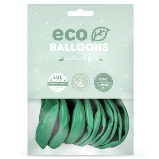 Balony Ekologiczne zielone Partydeco 12 10 szt