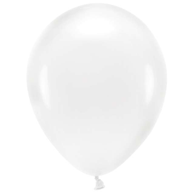 """Balony """"Ekologiczne"""", transparentne, Partydeco, 12"""", 10 szt"""