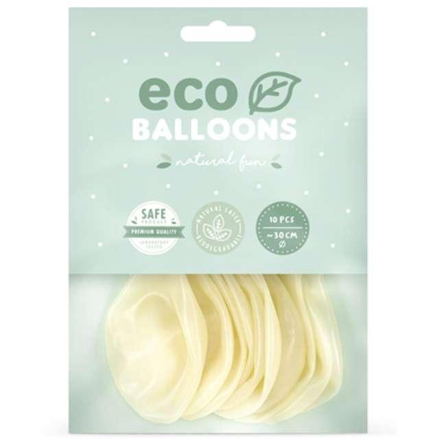 Balony Ekologiczne transparentne Partydeco 12 10 szt
