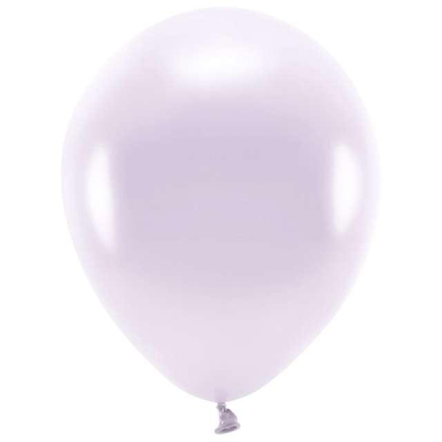 Balony Ekologiczne liliowy metalik Partydeco 10 10 szt