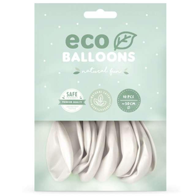 Balony Ekologiczne perłowy metalik Partydeco 10 10 szt