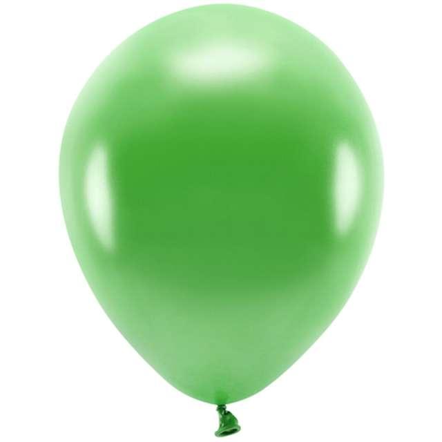 """Balony """"Ekologiczne"""", zielona trawa metalik, Partydeco, 10"""", 10 szt"""