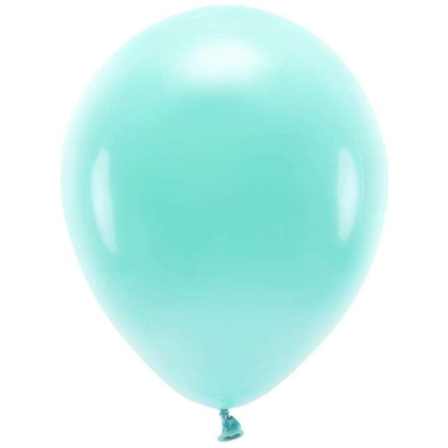 Balony Ekologiczne miętowe ciemne Partydeco 10 10 szt