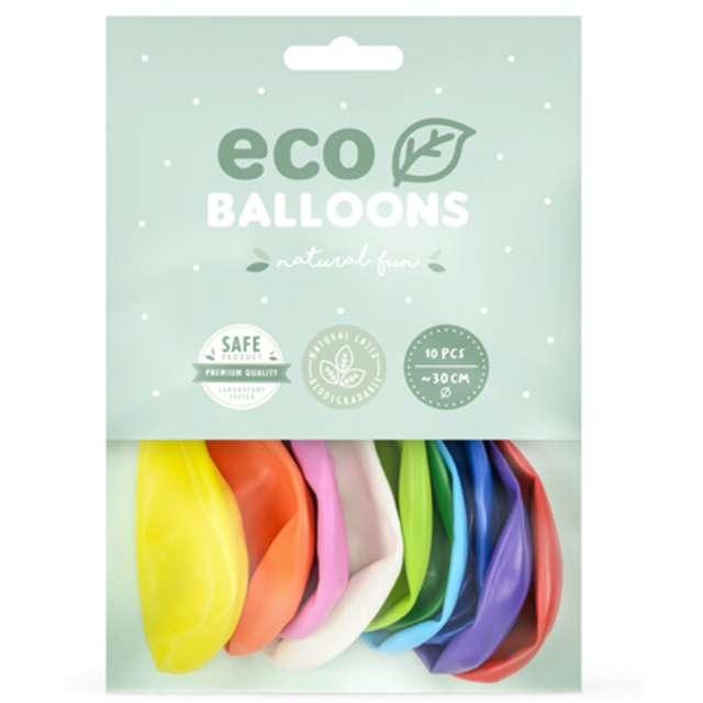 Balony Ekologiczne mix Partydeco 10 10 szt