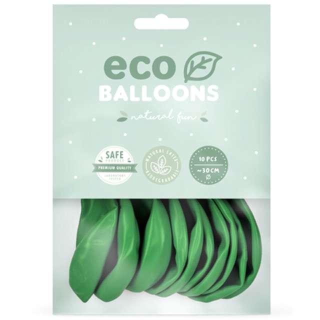 Balony Ekologiczne zielona trawa Partydeco 10 10 szt