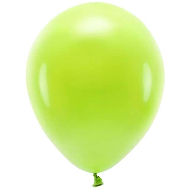 Balony Ekologiczne zielone jabłuszko Partydeco 10 10 szt
