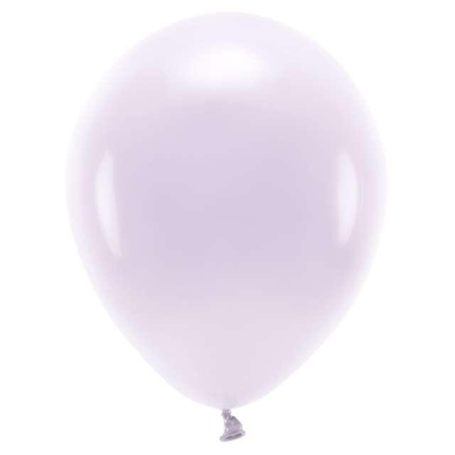 """Balony """"Ekologiczne"""", liliowe jasne, Partydeco, 10"""", 10 szt"""