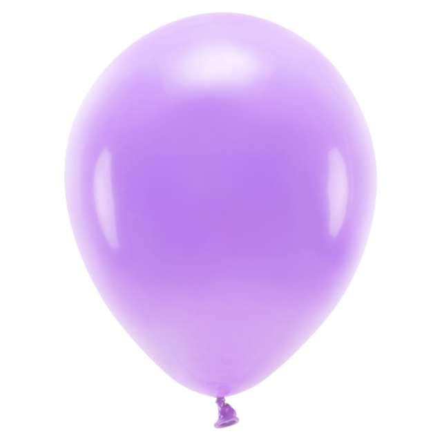 """Balony """"Ekologiczne"""", lawendowe, Partydeco, 10"""", 10 szt"""