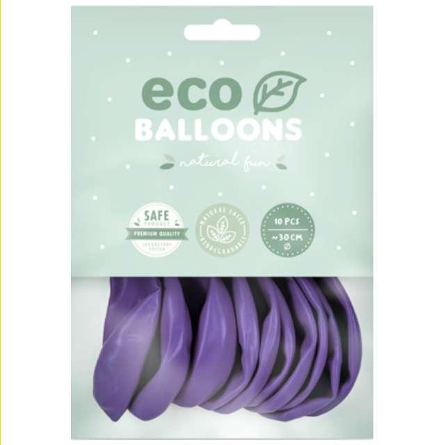 Balony Ekologiczne lawendowe Partydeco 10 10 szt