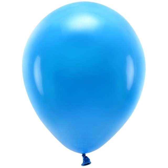 """Balony """"Ekologiczne"""", niebieskie, Partydeco, 10"""", 10 szt"""