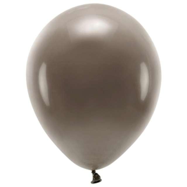 """Balony """"Ekologiczne"""", brązowe, Partydeco, 10"""", 10 szt"""