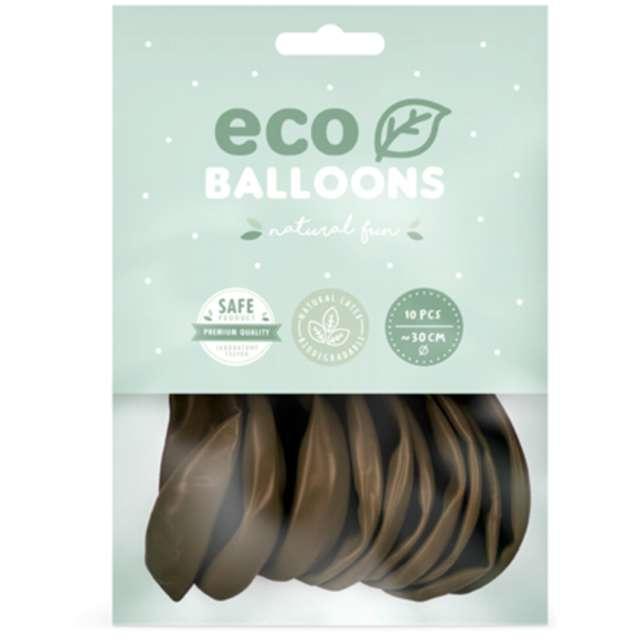 Balony Ekologiczne brązowe Partydeco 10 10 szt