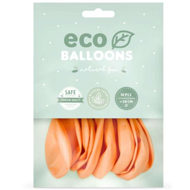 Balony Ekologiczne brzoskwiniowe Partydeco 10 10 szt