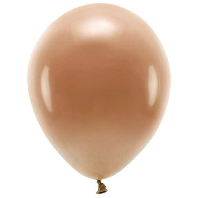 Balony Ekologiczne brązowe czekoladowe Partydeco 10 10 szt