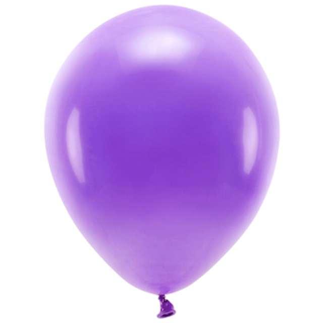 """Balony """"Ekologiczne"""", fioletowe, Partydeco, 10"""", 10 szt"""