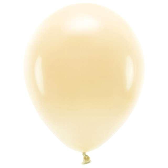 """Balony """"Ekologiczne"""", brzoskwiniowe jasne, Partydeco, 10"""", 10 szt"""