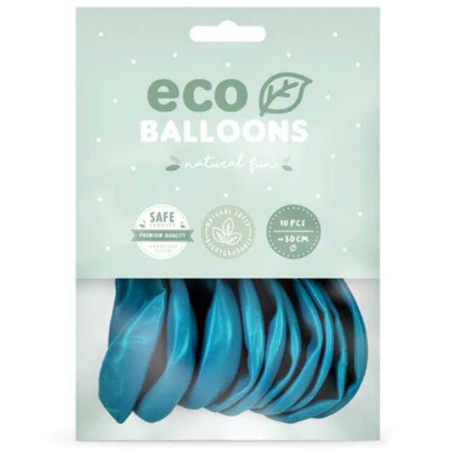 Balony Ekologiczne turkusowe Partydeco 10 10 szt