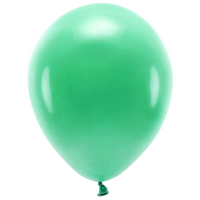 """Balony """"Ekologiczne"""", zielone, Partydeco, 10"""", 10 szt"""