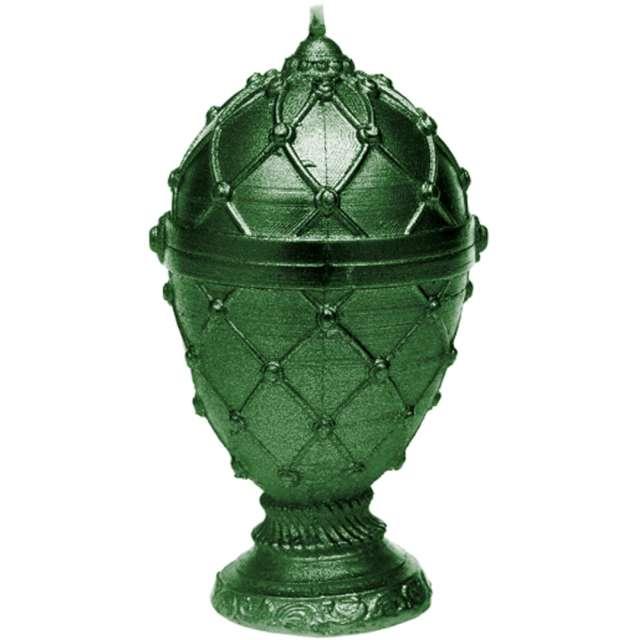 """Świeca """"Jajo Faberge"""", zielona, Candellana"""