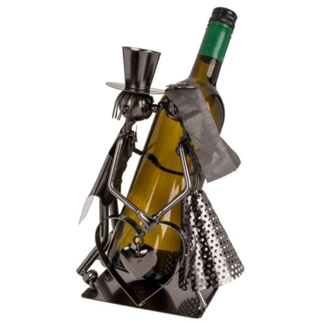 _xx_Metalowy stojak na wino - zakochana para III