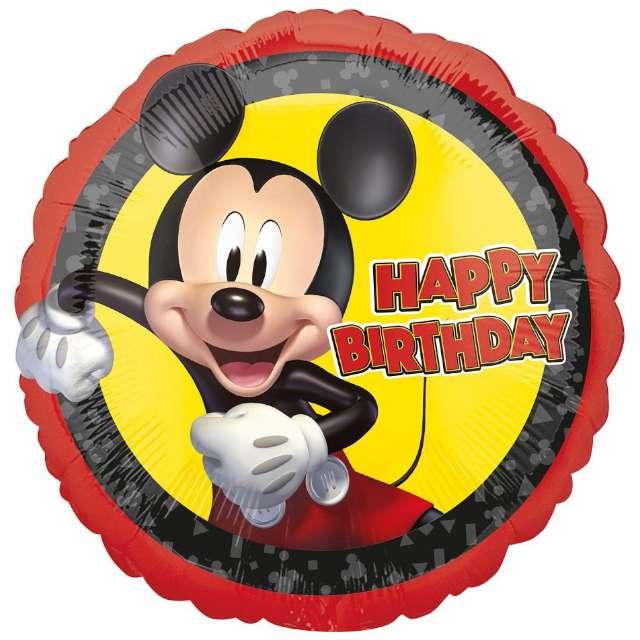 """Balon foliowy """"Myszka Mickey"""", Amscan, 18"""", RND"""