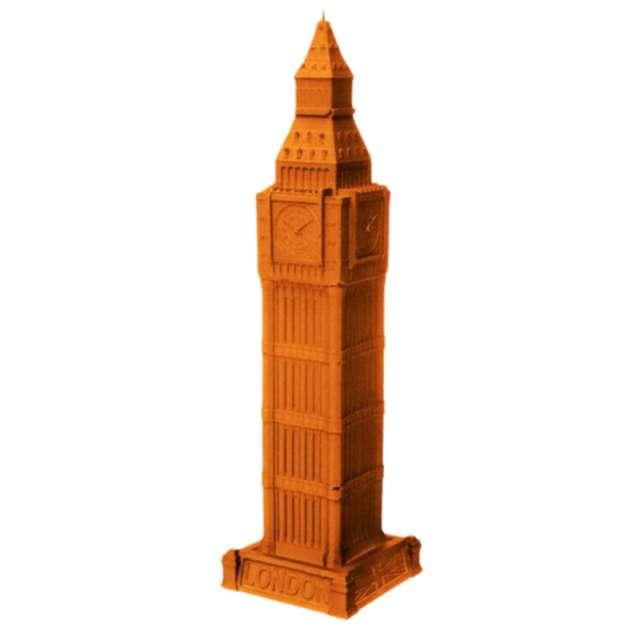 Świeca Big Ben XXL pomarańczowy perłowy Candellana