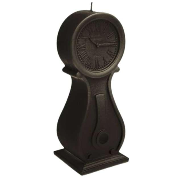 Świeca Zegar vintage XXL czarna perła Candellana