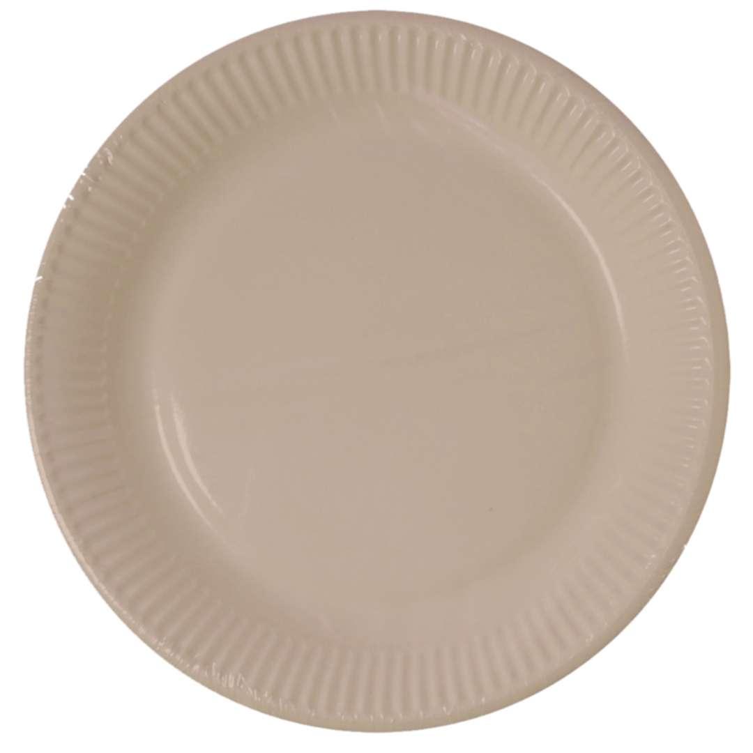 """Talerzyki papierowe """"Biodegradowalne"""",  Godan, 23 cm, 8 szt"""