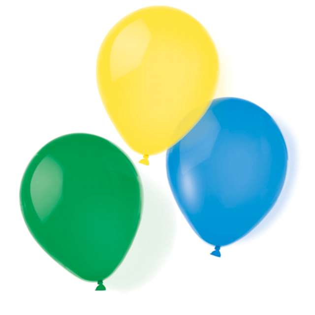 _xx_8 Latex Balloons metallic Assorted 25.4 cm/10