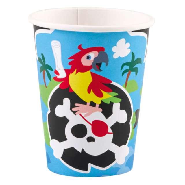 _xx_8 Cups Pirate Paper 250 ml
