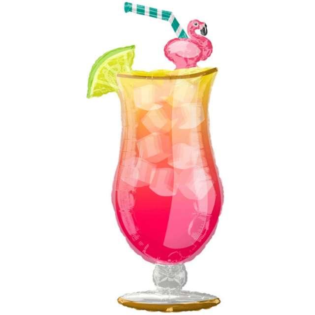 Balon foliowy Wakacyjny drink Amscan 40 SHP