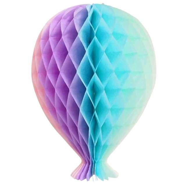 """Dekoracja """"Honeycomb Balonik"""", tęczowa, Godan, 20 cm"""