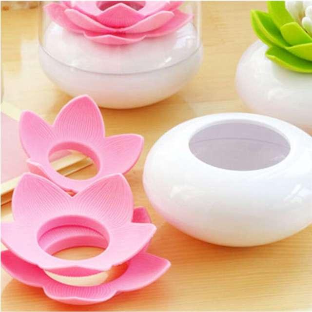 Pojemnik na pałeczki Kwiat Lotosu różowy GadgetMaster