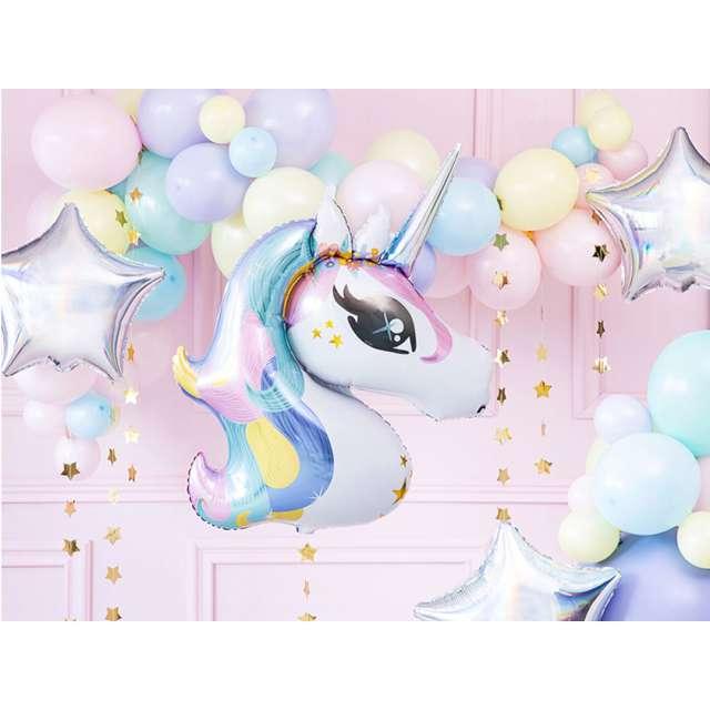 Balon foliowy Jednorozec tęczowy Partydeco 35 SHP
